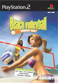 Portada oficial de Summer Heat Beach Volley para PS2