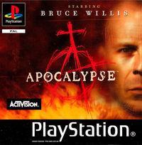 Portada oficial de Apocalypse para PS One