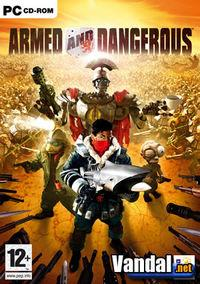 Portada oficial de Armed & Dangerous para PC