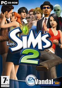 Portada oficial de Los Sims 2 para PC