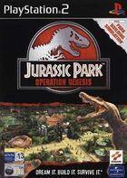 Portada oficial de de Jurassic Park: Operation Genesis para PS2