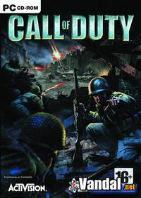 Portada oficial de Call of Duty para PC