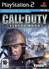 Portada oficial de Call of Duty: Finest Hour para PS2