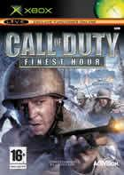 Portada oficial de de Call of Duty: Finest Hour para Xbox