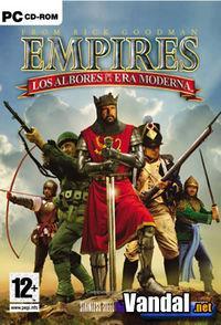 Portada oficial de Empires: Los Albores de la Era Moderna para PC