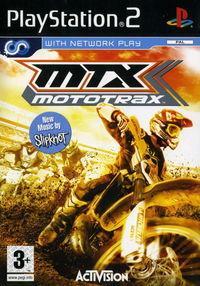 Portada oficial de MTX: Mototrax featuring Travis Pastrana para PS2