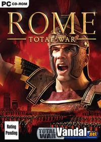 Portada oficial de Rome: Total War para PC