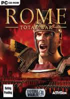 Portada oficial de de Rome: Total War para PC