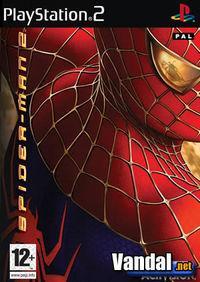 Portada oficial de Spider-Man 2 para PS2