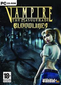 Portada oficial de Vampire: The Masquerade - Bloodlines para PC