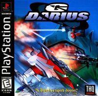 Portada oficial de G-Darius para PS One