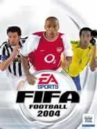 Portada oficial de de FIFA Football 2004 para PS2