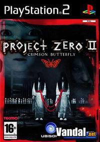Portada oficial de Project Zero 2 para PS2