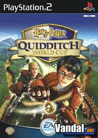 Portada oficial de Harry Potter: Quidditch World Cup para PS2