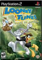Portada oficial de de Looney Tunes: De Nuevo en Acción para PS2