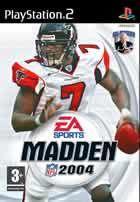 Portada oficial de de Madden NFL 2004 para PS2