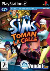 Portada oficial de Los Sims Toman la Calle para PS2