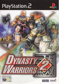 Portada oficial de Dynasty Warriors 2 para PS2