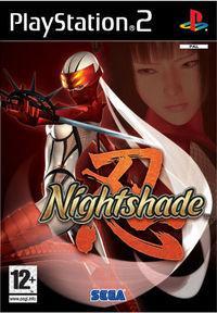 Portada oficial de Nightshade para PS2