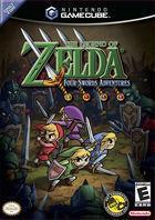 Portada oficial de de The Legend of Zelda: Four Sword para GameCube