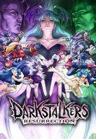 Portada oficial de de Darkstalkers Resurrection PSN para PS3
