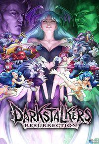 Portada oficial de Darkstalkers Resurrection XBLA para Xbox 360