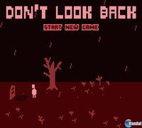Portada oficial de Don't Look Back para iPhone