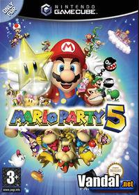 Portada oficial de Mario Party 5 para GameCube