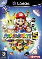 Portada oficial de de Mario Party 5 para GameCube