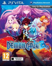 Portada oficial de Demon Gaze para PSVITA