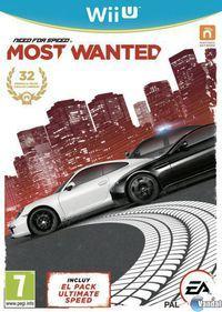 Portada oficial de Need for Speed: Most Wanted U para Wii U