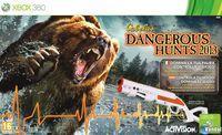 Portada oficial de Cabela's Dangerous Hunts 2013 para Xbox 360