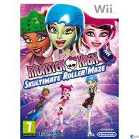 Portada oficial de Monster High: El Patinaje Laberíntico para Wii