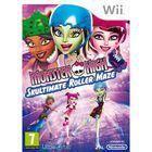 Portada oficial de de Monster High: El Patinaje Laberíntico para Wii