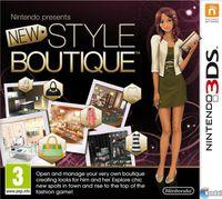 Portada oficial de Nintendo presenta: New Style Boutique para Nintendo 3DS