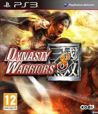 Portada oficial de Dynasty Warriors 8 para PS3