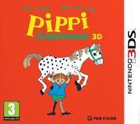 Portada oficial de Pippi Calzaslargas para Nintendo 3DS