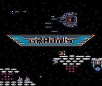 Portada oficial de Gradius CV para Nintendo 3DS