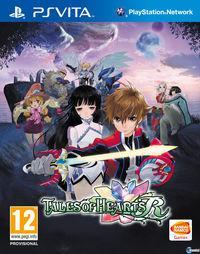 Portada oficial de Tales of Hearts R para PSVITA
