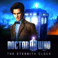 Portada oficial de Doctor Who: The Eternity Clock para PC
