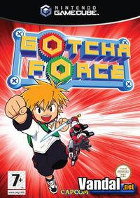 Portada oficial de Gotcha Force para GameCube