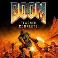 Portada oficial de Doom Classic Collection PSN para PS3