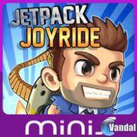 Portada oficial de Jetpack Joyride Mini para PSP