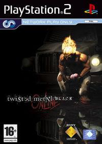 Portada oficial de Twisted Metal Black Online para PS2
