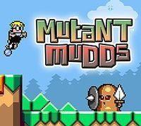 Portada oficial de Mutant Mudds Deluxe eShop para Wii U