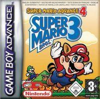 Portada oficial de Super Mario Advance 4: Super Mario Bros 3 para Game Boy Advance