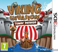 Portada oficial de Viking Invasion 2: Tower Defense eShop para Nintendo 3DS