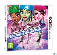 Portada oficial de Monster High: El Patinaje Laberíntico para Nintendo 3DS