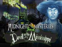 Portada oficial de Midnight Mysteries: The Devil on the Mississippi para Nintendo 3DS
