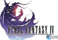 Portada oficial de Final Fantasy IV para iPhone